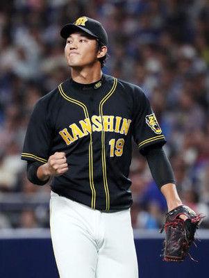 阪神藤浪、高卒右腕では球団最速の通算50勝
