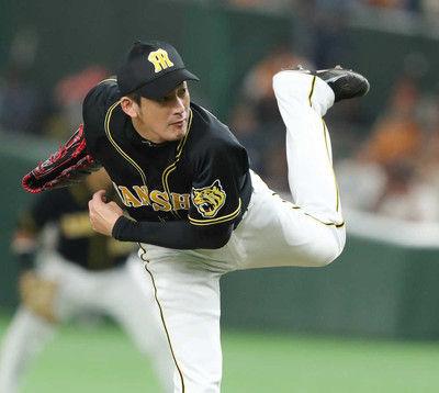阪神・能見、来季もリリーフ!矢野監督と会談で決意「しっかり準備したい」