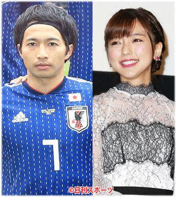 柴崎岳と真野恵里菜が結婚、遠距離愛実らせ来月にも