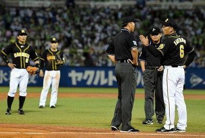 阪神判定に泣き、3連勝でストップ新助っ人・ナバーロが適時打も…一歩及ばず