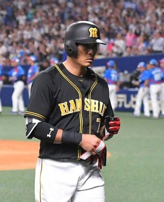 阪神・糸井、左肩重傷今季中の復帰絶望的…金本監督「無理でしょうね」