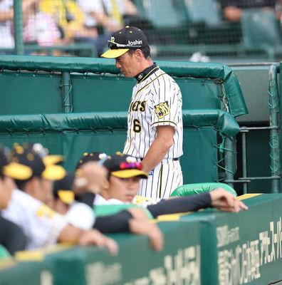 阪神5連敗で単独最下位…金本監督、5点差追いつくもドリス炎上、敗戦に言葉少な