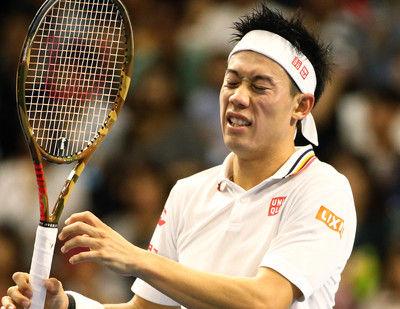錦織 フェデラーに敗れ7年ぶり4強ならず、上海マスターズ<男子テニス>