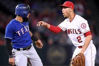 """【MLB】大谷、最後尾で乱闘騒ぎを""""初体験""""シモンズは相手に呆れ顔「まぁいいさ」"""