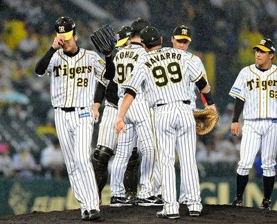 阪神 2安打完封負けファンも怒!「気合を入れろ、タイガース」の大合唱
