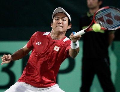 西岡良仁 ストレート負け、日本は黒星スタート。デ杯 vs中国<男子テニス>