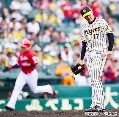 阪神4連敗で借金5投打ともに精彩欠きついに最下位