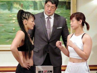 """""""黒い""""RENA、""""白い""""浅倉カンナとにらみ合い「ヒールも楽しくなってきた」"""