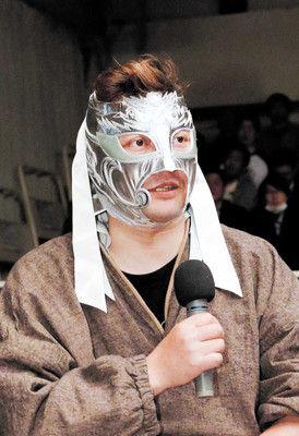 ハヤブサさん形見のマスク行方不明実家旅館展示中最後の1枚で雁之助も呼び掛け
