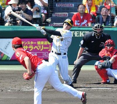 阪神・福留、11打席ぶりの安打は同点6号ソロ「本塁打はたまたま」