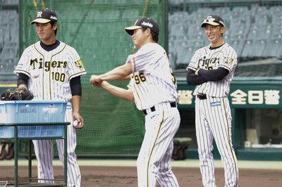 """矢野監督が虎初ユニ姿 積極対話で金本野球を""""反面教師""""に"""