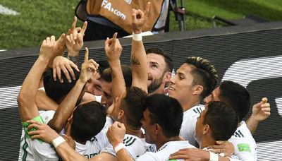 メキシコが7大会連続GL突破に王手!韓国は連敗で敗退が濃厚に…/W杯グループF第2節