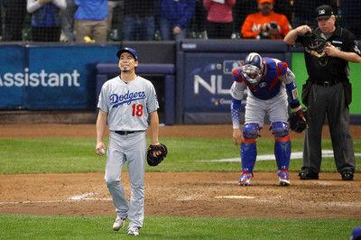 """【MLB】前田健太、痛恨暴投でPS初失点ブルワーズに""""逆王手""""かけられ3勝3敗で第7戦へ"""
