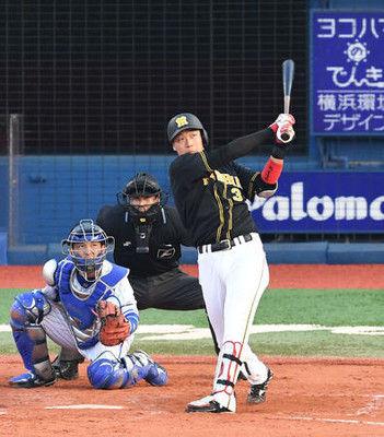 阪神大山、歴史に名を刻んだ6打数6安打3本塁打