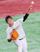 【巨人】57日ぶり先発の田口、首位斬り狙う…広島戦スタメン発表