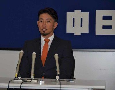 中日・藤井は現状維持の5500万円野手ではチーム最年長「今は経験を伝えることしかできていない」