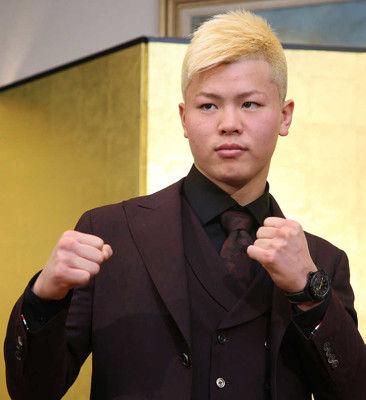那須川天心金髪で主人公宣言!メイウェザー戦へ「日本代表として闘う」