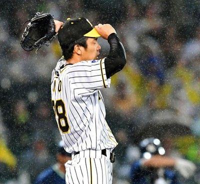 阪神先発の小野は5回2/3を4失点降板打線もヤクルト・原を打ちあぐねる