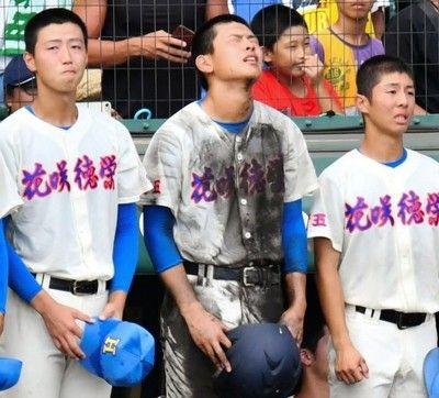 花咲徳栄・野村 連覇ならず涙最後の打者・井上に「大きくなって帰って来い」