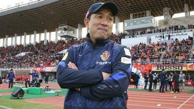 J1残留の名古屋、風間監督の続投を発表!「来季も共に一体となり楽しみましょう」