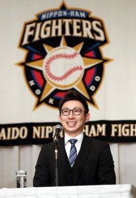 日本ハム入り金子、黒髪姿に「まずは野球で見て」