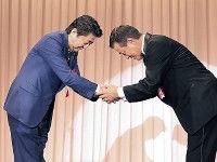 【巨人】「原監督の政界進出構想」あった!安倍首相ビックリ発言