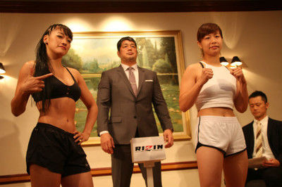【RIZIN】浅倉カンナとRENAが計量クリアー、RENA「ぶっ飛ばすしかない」