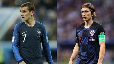 決勝はフランスとクロアチアが激突!W杯での対戦は20年ぶり、98年大会以来