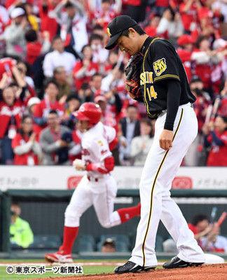 能見背信の9失点KOで阪神3連敗…金本監督「見ての通り」