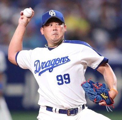 中日松坂の背番号変更を正式発表来季は慣れ親しんだ「18」に京田は「1」