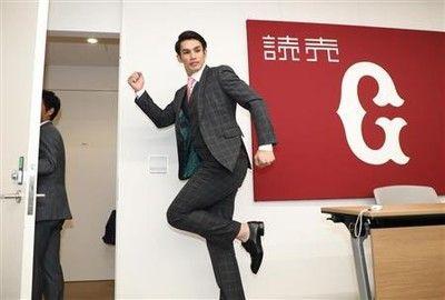 巨人・陽、現状維持3億円でサイン!王柏融には「日本で活躍して」