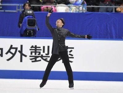 高橋大輔自分でもビックリ「まさかの2位」6年ぶり全日本の表彰台