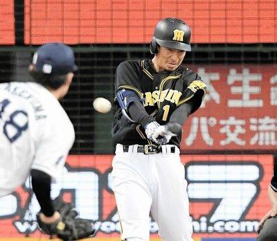 阪神・鳥谷、マルチ安打で手応え「ボール見えている」5月20日以来の先発出場