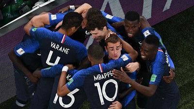 フランスが20年ぶりの世界王者へ王手!ベルギーは初の決勝進出ならず