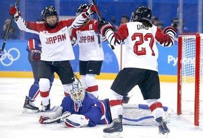 スマイルジャパンが悲願の五輪初勝利、韓国・北朝鮮合同チームに4―1