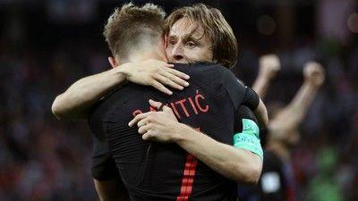 史上初の決勝進出を果たしたクロアチア、ラキティッチは「昨晩は39度の高熱があった」