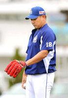 【中日】右肩を痛めている松坂が17日に名古屋へ戻ることを発表