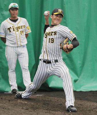 笑顔戻った藤浪=復活へ、充実の日々-プロ野球・阪神