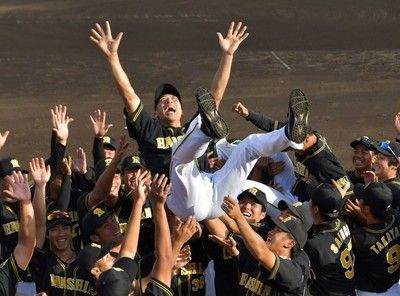 阪神、8年ぶりウエスタン・リーグ優勝矢野2軍監督「超積極的野球」が実る