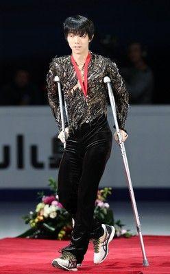 羽生結弦がGPファイナル欠場ロシア杯での右足首負傷のため