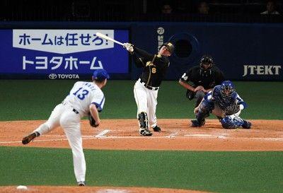 中日岩瀬、引退登板で同期入団の福留を3球三振森&金本監督が演出
