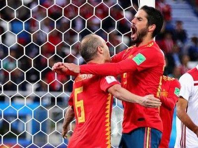 スペイン、苦しみながらも決勝トーナメント進出…モロッコ相手に2度追いつく