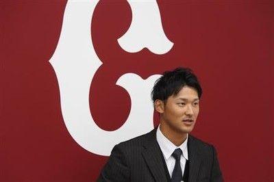 巨人・吉川尚、1500万円増で更改「振り返ったら本当に悔しいシーズンでした」