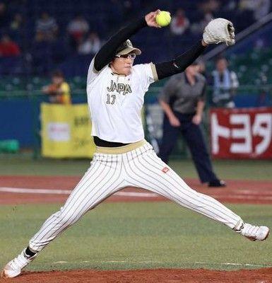 2試合完投の上野由岐子、米に11Kもサヨナラ負け