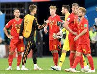 ベルギー、決勝進出の夢絶たれるGKクルトワはフランス批判「サッカー界の恥だ」