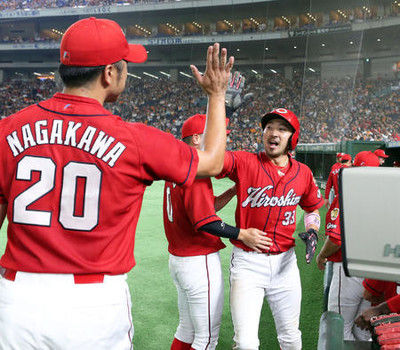 広島西川V打、永川2勝目巨人は今季負け越し決定