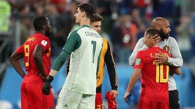 「フランスはアンチ・フットボール」「失望した」 敗退のベルギー代表、クルトゥワとアザールが嘆く