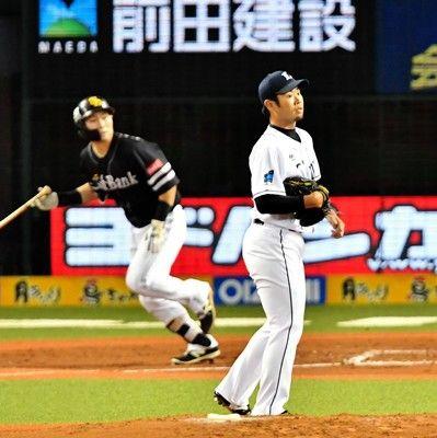 西武・榎田、CS初マウンドも3回4失点KO「フォアボールが反省点」