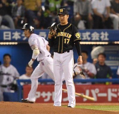 阪神先制も…直後にヤクルト・山田&西浦弾で一気に6点失う