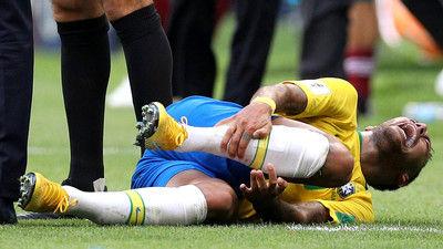 決勝弾のネイマール、メキシコのラフプレーに怒り心頭「痛みに苦しんでしかなかったよ」